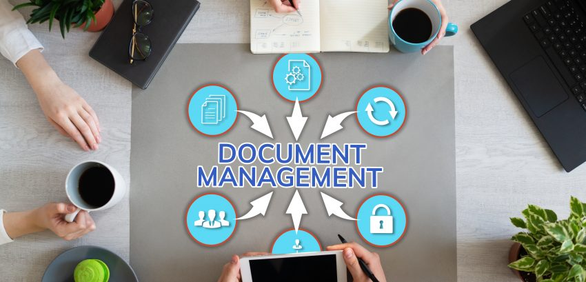 Document management system business process optimisation on Office desktop