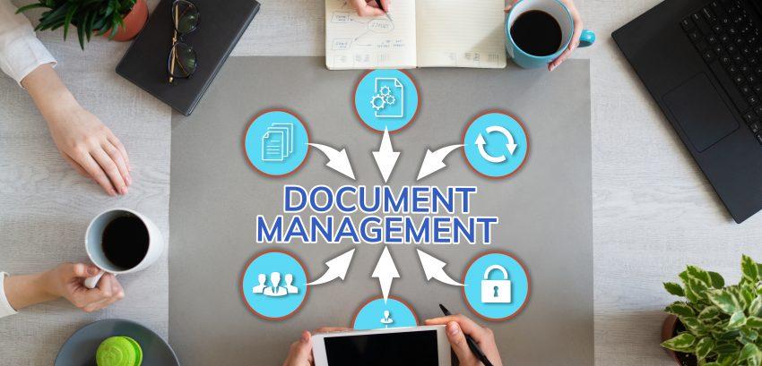 Document management system business process optimisation on Office desktop